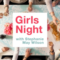 Logo of the podcast Girls Night #54: Navigating Grief and Finding Comfort in Your Pain