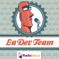 Logo of the podcast Les pieds devant (La Dev Team #6)
