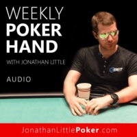 Logo of the podcast Weekly Poker Hand with Jonathan Little