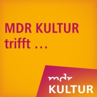 Logo of the podcast MDR KULTUR trifft die Dirigentin Anna Skryleva