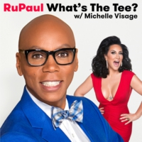 Logo of the podcast RuPaul: What's The Tee with Michelle Visage