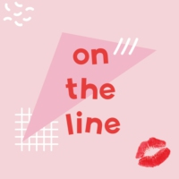 Logo of the podcast On The Line with Estée Lalonde