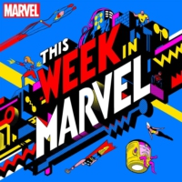 Logo of the podcast #438 - Wanda / Vision Comics Galore and HOXPOX Hits Marvel Future Fight!