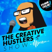 Logo of the podcast The Creative Hustlers Show