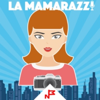 Logo of the podcast La Mamarazzi 01- Presentación