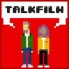 Logo of the podcast TalkFilm with Jamie East & Hanna Flint