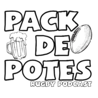 Logo du podcast Pack de Potes Rugby Podcast