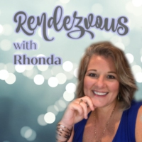 Logo of the podcast Getting Courageous On Camera & In The Spotlight ~ Rhonda Burns