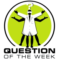 Logo du podcast Question of the Week, from the Naked Scientists
