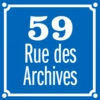 Logo of the podcast 59 Rue des Archives