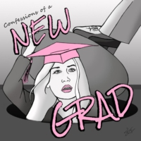 Logo of the podcast Confessions of a New Grad