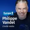 Logo of the podcast Les invités de Culture médias - Philippe Vandel