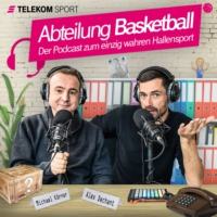 Logo du podcast EuroLeague Gesichter: Tibor Pleiß und Danilo Barthel