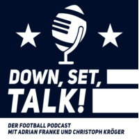 Logo of the podcast Down, Set, Talk! - Der Football Podcast