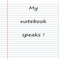 Logo of the podcast my notebook speaks