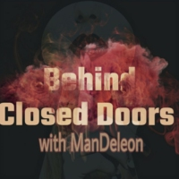 "Logo du podcast Behind Closed Doors with ManDeleon:Actor Maurandis Berger New Movie ""Poor Georgie"""