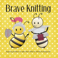 Logo of the podcast Brave Knitting