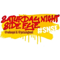 Logo of the podcast Saturday Night Side Eye