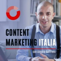Logo du podcast Content Marketing Italia