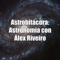 Logo of the podcast Astrobitácora: astronomía con Álex Riveiro