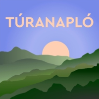 Logo du podcast Túranapló S01E09 with Ashley G Dean, who walked the 9000-km-long E4 trail