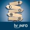Logo du podcast hr-iNFO Himmel und Erde