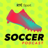 Logo of the podcast RTÉ Soccer Podcast