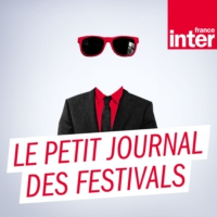 "Logo of the podcast ""Les Extatiques"", festival d'art au cœur de La Défense"