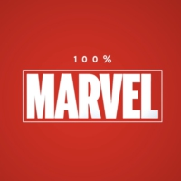 Logo of the podcast 100% Marvel