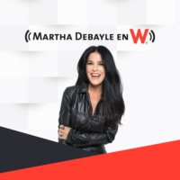 Logo of the podcast Martha Debayle en W (06/05/2021 - Tramo de 10:00 a 11:00)