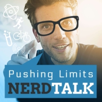 Logo of the podcast Pushing Limits – Endurance Nerd Talk