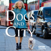 Logo du podcast Dogs and the City - Writer Kate Spicer and her dog Wolfy