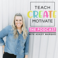 Logo of the podcast Teach Create Motivate Podcast: Motivational Tips & Tricks for Teachers