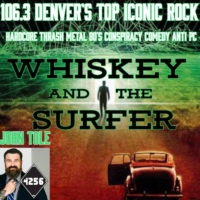 Logo of the podcast Whiskey and The Surfer