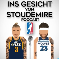 Logo of the podcast Ins Gesicht von Stoudemire - Der NBA Podcast