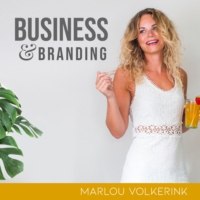 Logo of the podcast Marlou's Business & Branding Bar