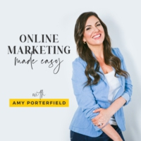 Logo of the podcast Official Trailer: Online Marketing Made Easy with Amy Porterfield