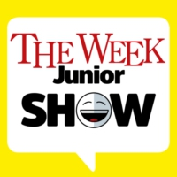 Logo of the podcast Christmas music and designing The Week Junior's magazine cover