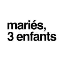 "Logo du podcast #14 - Parents confinés / ""Mariés, 3 enfants"" par Clara et Mikka"