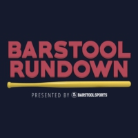 Logo of the podcast Barstool Rundown - August 25, 2020