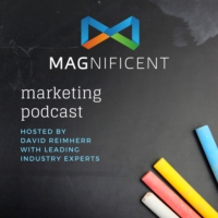 Logo of the podcast The Magnificent Marketing Podcast