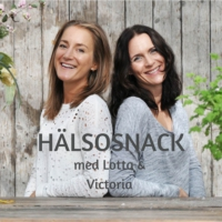 Logo of the podcast Hälsosnack med Lotta och Victoria