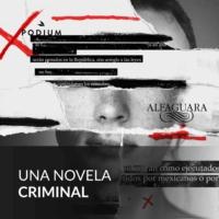 Logo of the podcast Una novela criminal