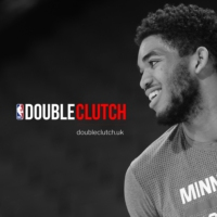 Logo of the podcast Double Clutch - NBA Podcast #NBAintheUK