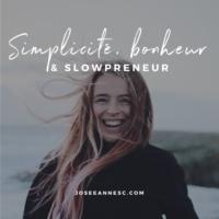 Logo of the podcast Simplicité, bonheur & slowpreneur