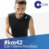 Logo of the podcast #KM42 Running El Partidazo de COPE