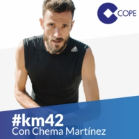 Logo of the podcast #KM42 Running El Partidazo de COPE