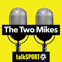 Logo of the podcast Two Mikes podcast