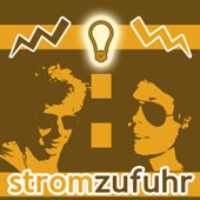 Logo of the podcast stromzufuhr