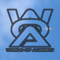 Logo of the podcast World of Ambient Podcast by Stars Over Foy